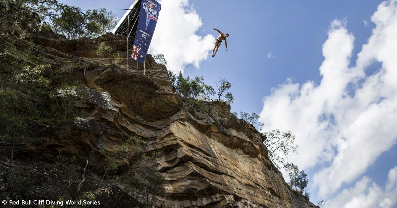 Austrália acolhe qualificação do Red Bull Cliff